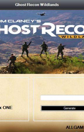 Ghost Recon Wildlands Redeem Code Generator by joyceellisons