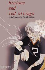 bruises & red strings ☽ │sugawara x reader by JustEwu