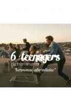 6 teenagers. [ P A U S A D A ] by TheMemeMar
