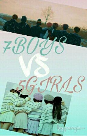 7BOYS VS 5GIRLS ~ bts [malay] by Hyunji_04
