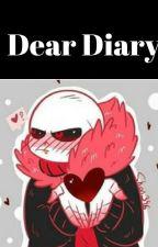 Dear Diary- An Underfell Sans day by _UnderfellSans12_