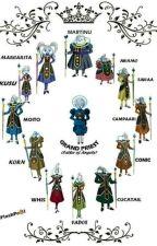 la historia de los 12 ángeles de Dragón ball Super  by YsselitaHuarancaAqui
