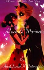Adrien and Marinette (Romeo and Juliet) (Miraculous Ladybug) by TheEmoFreak29