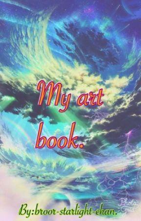 My arts book. by broor-kazumi-chan