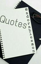Quotes Amburadul (complate)  by adorableemon