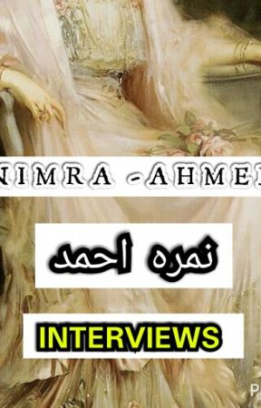 NIMRA-AHMED  نمره احمد   (Interviews Of jKP) 😉 Hav Fun! by bintameeen