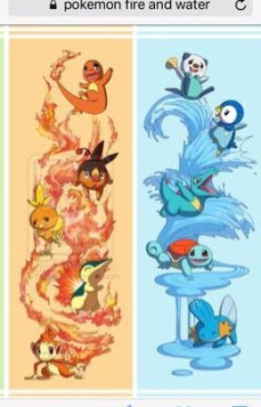 Pokemon Fire and Water by DreamWatcher101