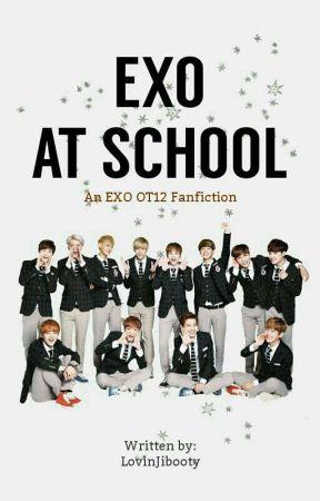 EXO At School ✎ OT12 by LovinJibooty