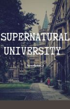 Supernatural University (Wigetta---MINI FANFIC---) by LittleWolfyZ4_3