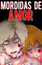 Mordidas De Amor~ | Sick Springtrap x Golden - #FNAFHS by -CryGxlden-