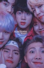 Reactions ❥ Bts by blutmond_