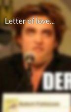 Letter of love... by TroutandLofty