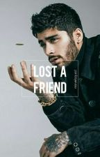 lost a friend // z.m. by marvelszquad