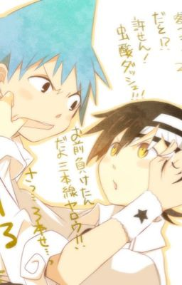 Black*Star x Reader x Death the Kid (Soul Eater fanfic)