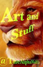 Art and stuff by TheAlphaWolf_13