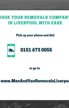 Man and Van Removals Liverpool by morgannbarett