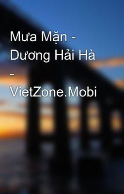 Mưa Mặn - Dương Hải Hà - VietZone.Mobi