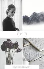 Gold (Erik Lehnsherr x OC) by IcarusinOblivion