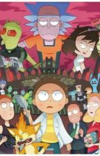 The book of Rick and Morty  by meotoshi