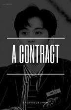 • a contract - mark • by taebreezeuhuh