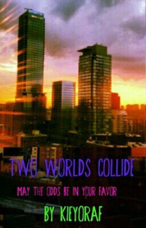 Two Worlds Collide  by KieyoraF