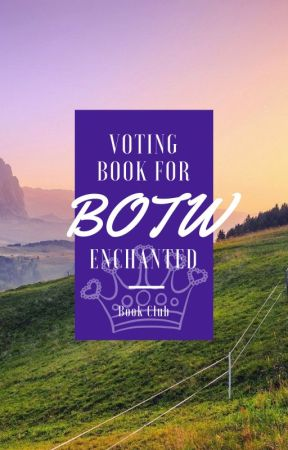 Book of the Week Voting by CrazyGirlsWriters
