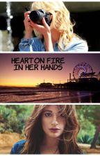 Heart on Fire in Her Hands by redfieldfer