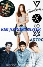 Kim jongin's sister by justice_constantina