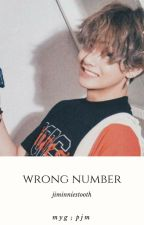 wrong number // yoonmin by jiminniestooth