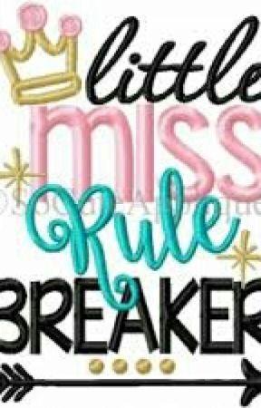 Little Miss Rule Breaker by 23redhearts