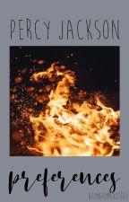 Percy Jackson Preferences by dmnhoney