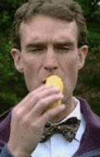 Bill Nye x Corn by skeletonarms