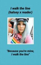 I walk the line ❁ Halsey by iamhalscy