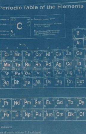A Chemistry Study Periodic Table Of Elements Wattpad