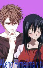Akeno Himejima y tu by Hisui_E