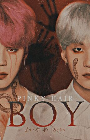 Pinky Hair Boy •• YoonMin [+18] by LucAAoSora