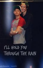 I'll Hold You Through The Rain - Larry Stylinson /fluffy one shot/ by tomlinson-kjellberg