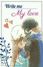 Write me, my love~ ♥// Whatsapp ErrorInk// by Sakura_shiromi_X3