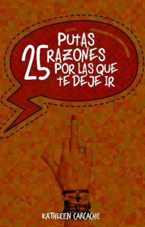 25 Putas razones por las que te dejé ir |EN AUDIO LIBRO GRACIAS A BEEK| by La_Carcache