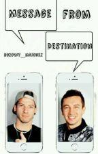 Message from destination | Joshler by yeezusie