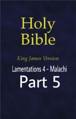 The Holy Bible (KJV) Lamentations 4 - ? (Part 5) by jesara
