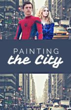 Painting the City || Peter Parker by mysticburst