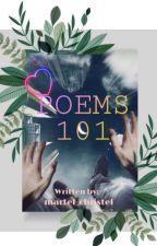 Poems 101 by martel_christel