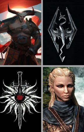 The Dragonborn Comes (Skyrim/Dragon Age: Inquisition) (Dragonborn x Iron Bull) by insaneredhead