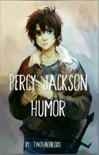 Percy Jackson humor by twohalfbloods