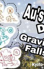 AU's de gravity falls (completa)  by Laigh-Fournier