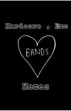 Memes de bandas ( hardcore , emo , Etc  ) ❤❤❤ by neuspalacin202