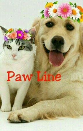 Paw Line by pragnyaparamita