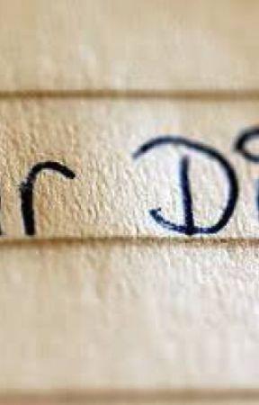 Dear diary by yourealizard