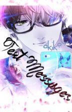 Text Messages (Yaoi BoyXBoy) by Akikou